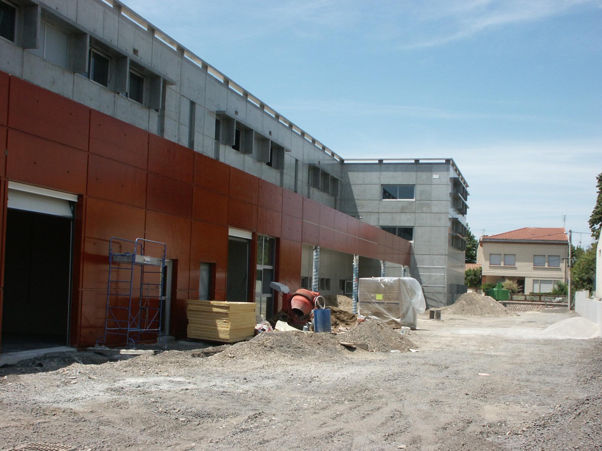 Sofaper chantier college de bessou a beziers 12