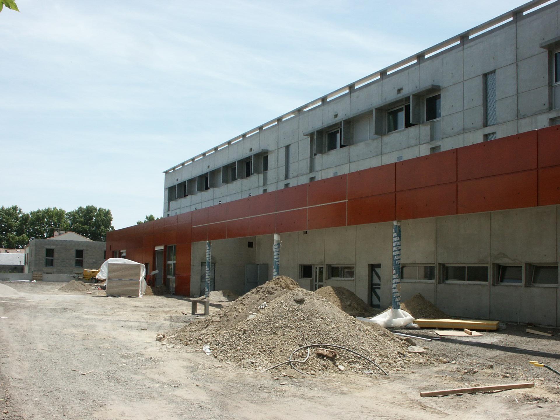 Sofaper chantier college de bessou a beziers 14