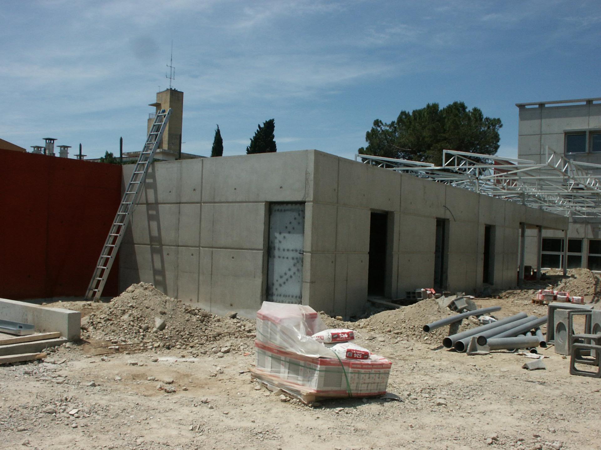 Sofaper chantier college de bessou a beziers 15