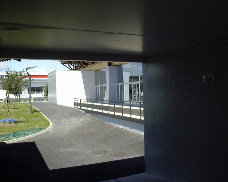Sofaper chantier de la salle polyvalente de methet lasure prelor 3 sur beton 9