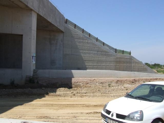 Sofaper eiffage tp chantier lgv perpignan traitement anti graffiti 54