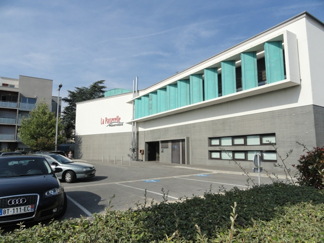 Sofaper Lasure Béton -  Médiathèque La Passerelles à Valence 12