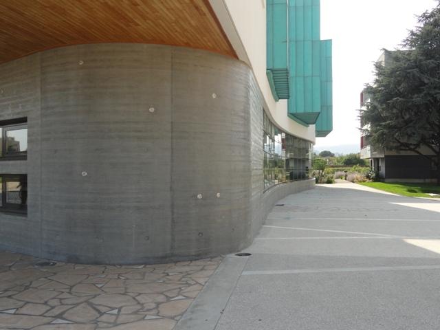 Sofaper Lasure Béton -  Médiathèque La Passerelles à Valence 7