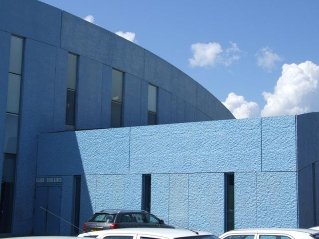 Sofaper patinoire vegapolis a odysseum traitement des beton teinte bleu 11