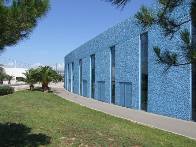 Sofaper patinoire vegapolis a odysseum traitement des beton teinte bleu 7