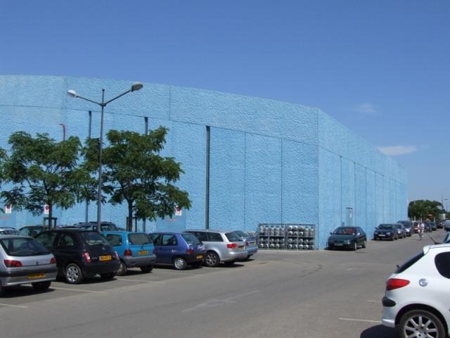 Sofaper patinoire vegapolis a odysseum traitement des beton teinte bleu 9