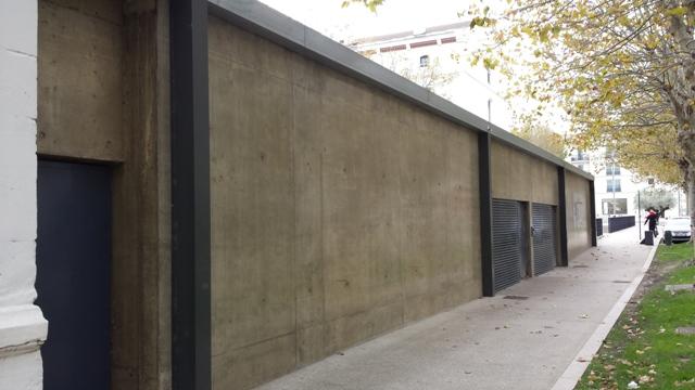 Sofaper rivasi chantier montelimat restaurant le 45 eme et le mess lasure 6
