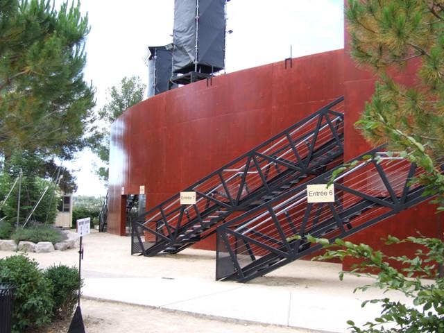 Sofaper Lasure Béton Grace Pieri - theatre de verdure chateau d o montpellier lasure beton pieri 10