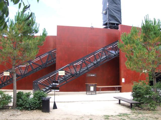 Sofaper Lasure Béton Grace Pieri - Theatre de Verdure Chateau d' O Montpellier ( Lasure Pieri ) 2