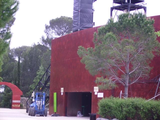Sofaper Lasure Béton Grace Pieri - Theatre de Verdure Chateau d' O Montpellier ( Lasure Pieri ) 20
