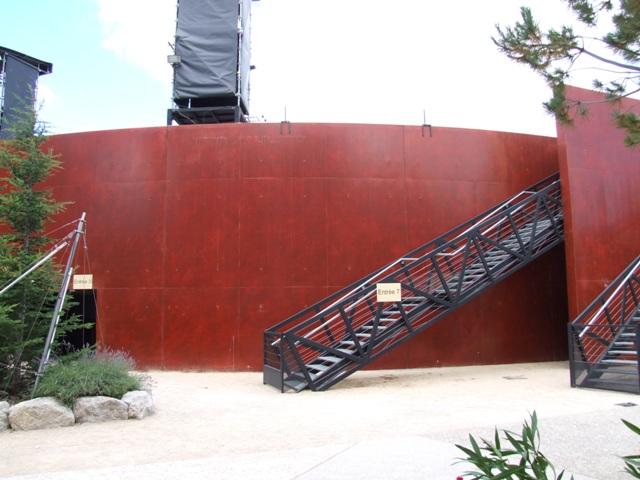 Sofaper Lasure Béton Grace Pieri - Theatre de Verdure Chateau d' O Montpellier ( Lasure Pieri ) 4