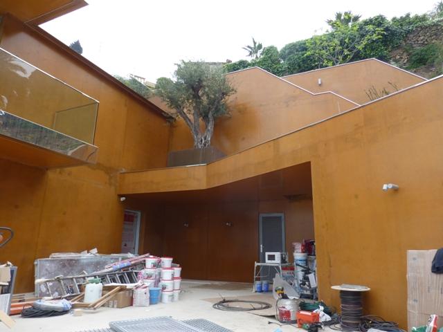 Sofaper villa theoule sur mer lasure beton 18