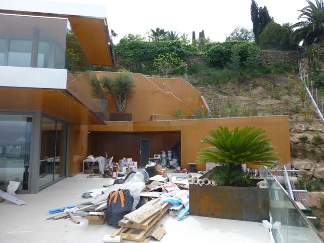 Sofaper Lasure Béton Grace Pieri - villa theoule sur mer lasure beton 30