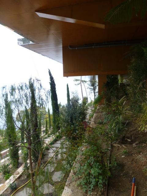 Sofaper Lasure Béton Grace Pieri - villa theoule sur mer lasure beton 49