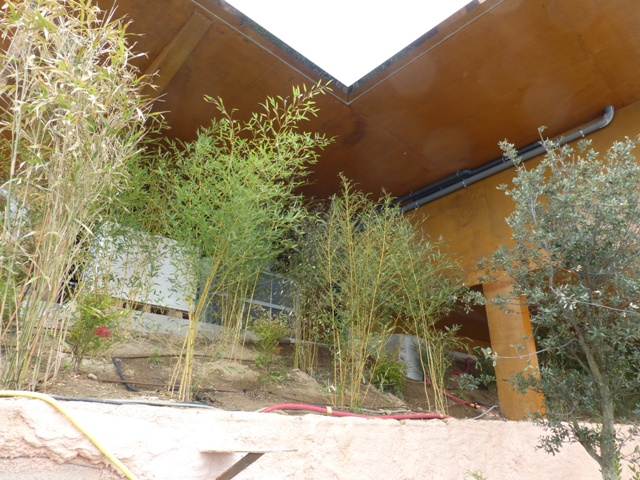 Sofaper villa theoule sur mer lasure beton 56