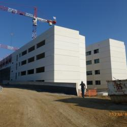 Sofaper - Campus Stic Montpellier (  Lasure Béton 7800 m² Pieri )