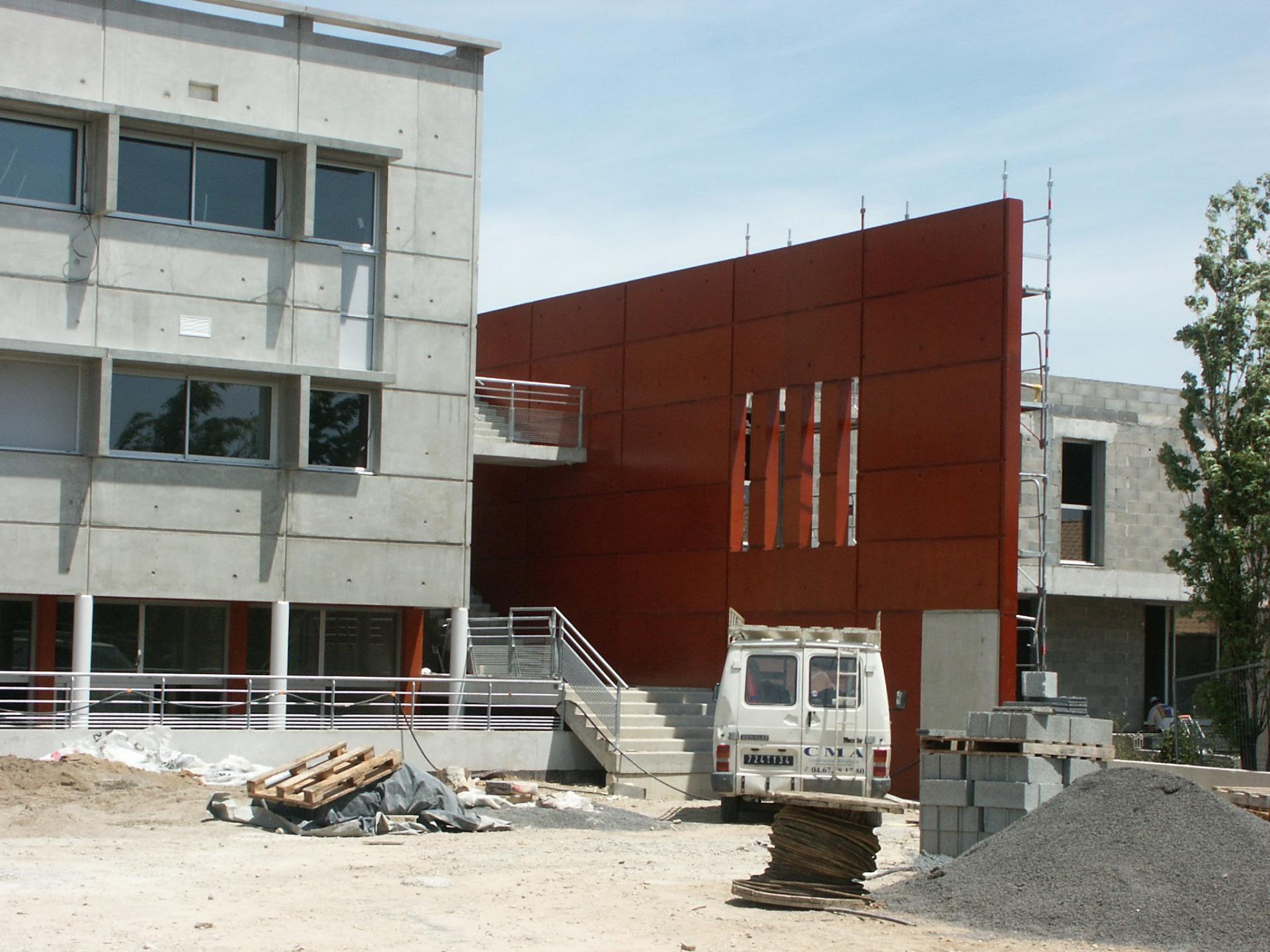 Sofaper chantier college de bessou a beziers 10