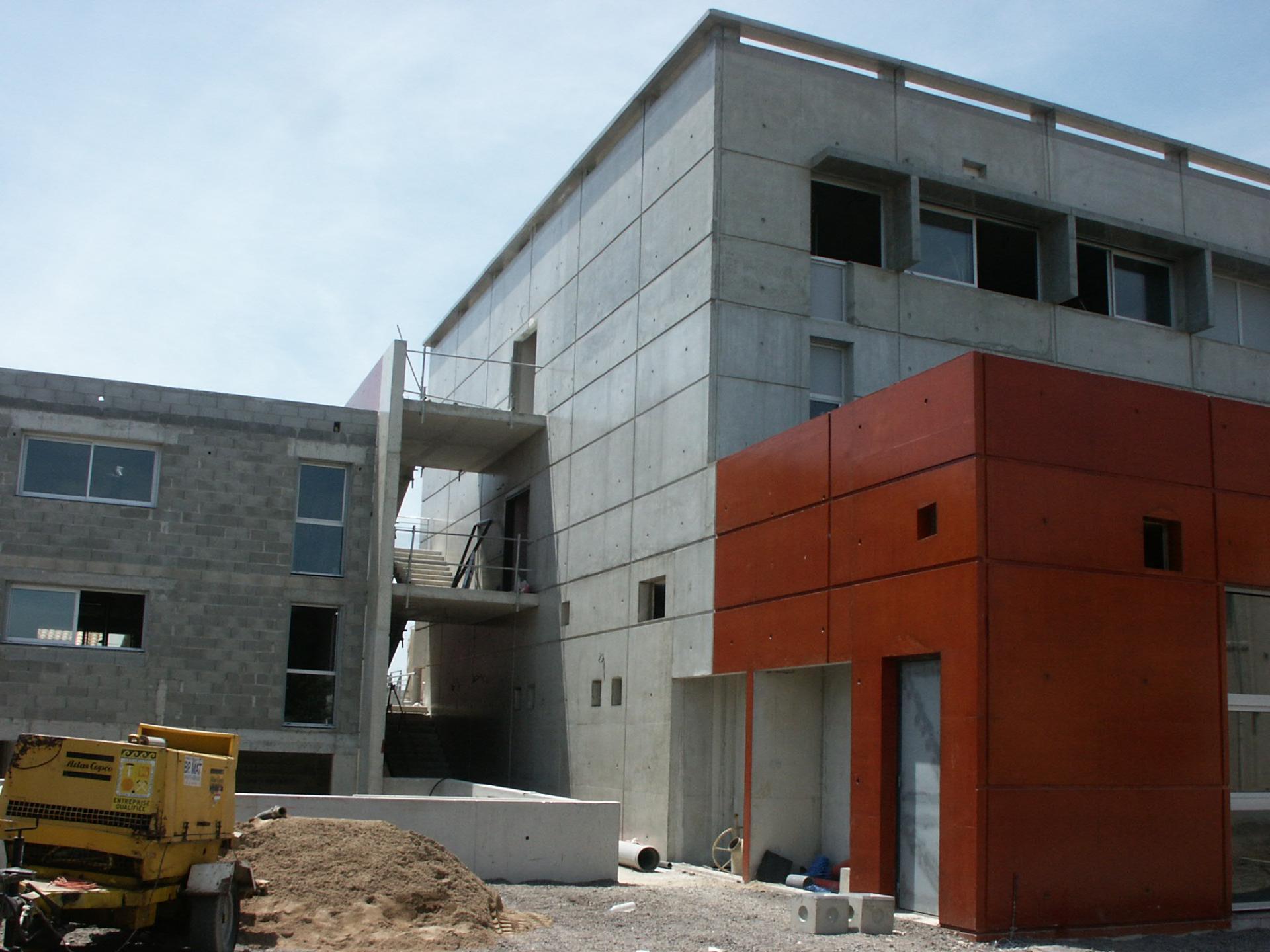 Sofaper chantier college de bessou a beziers 16
