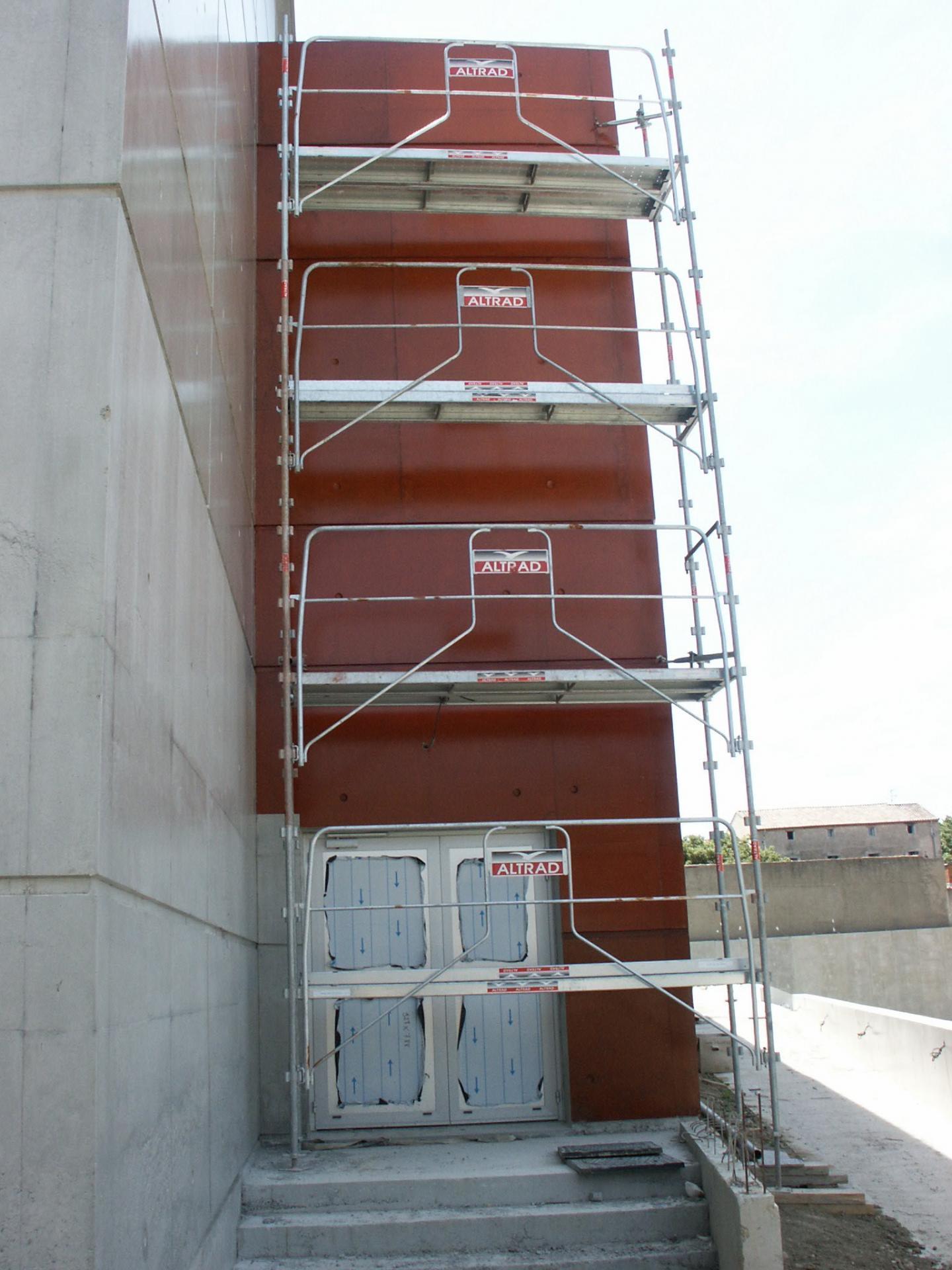 Sofaper chantier college de bessou a beziers 18