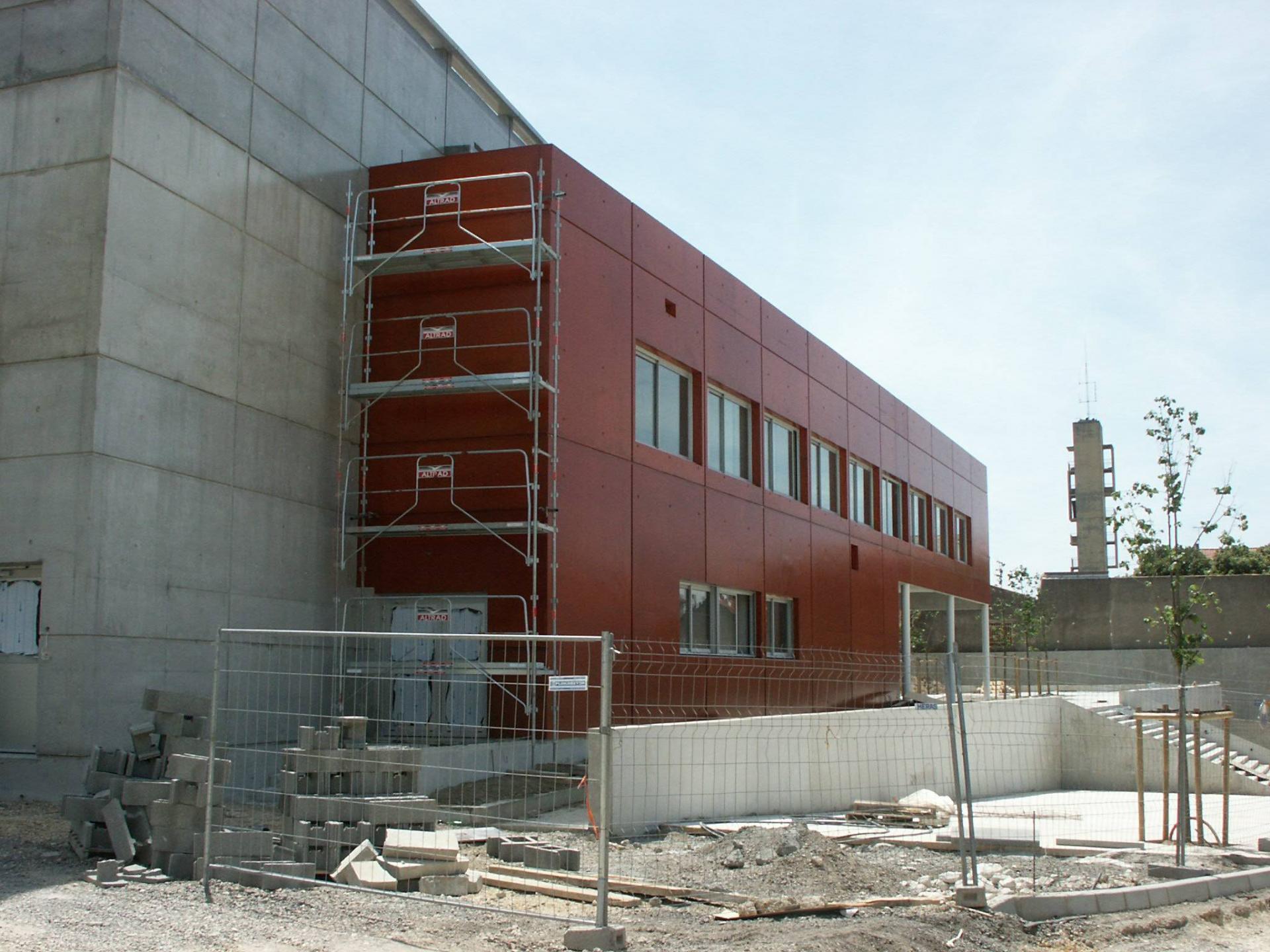 Sofaper chantier college de bessou a beziers 3
