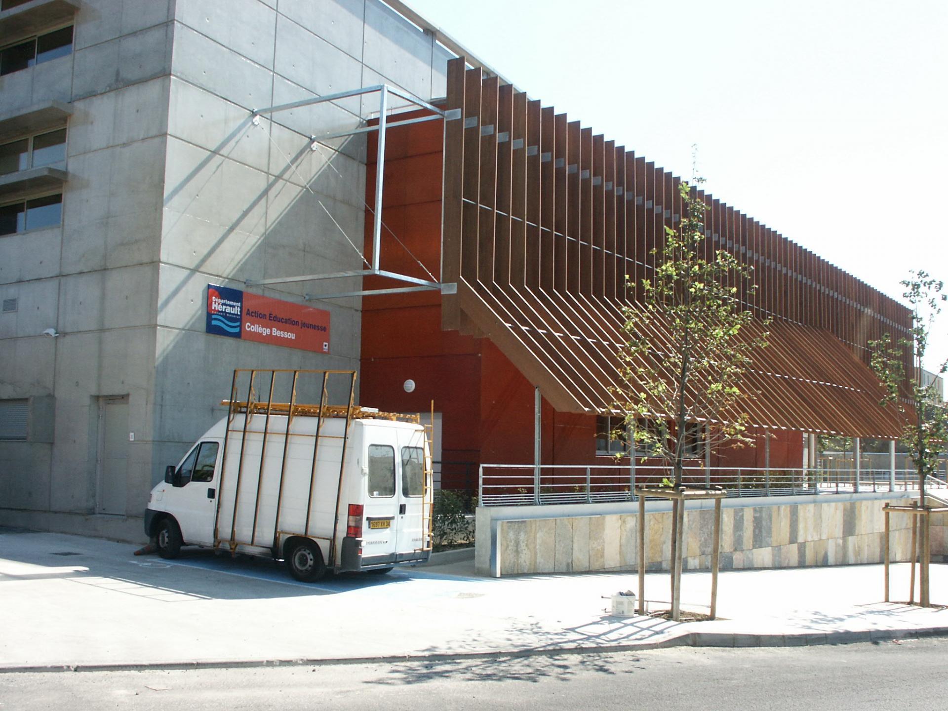 Sofaper chantier college de bessou a beziers 37