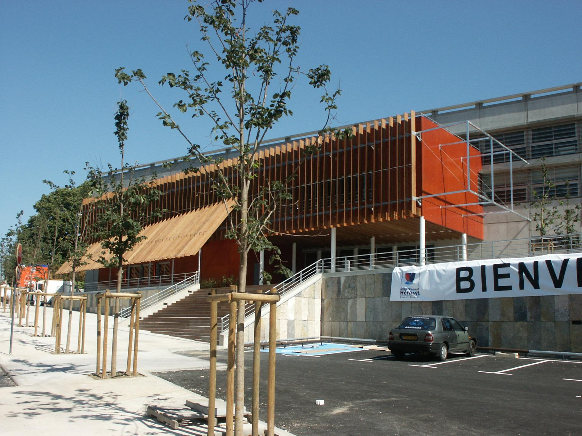 Sofaper chantier college de bessou a beziers 42