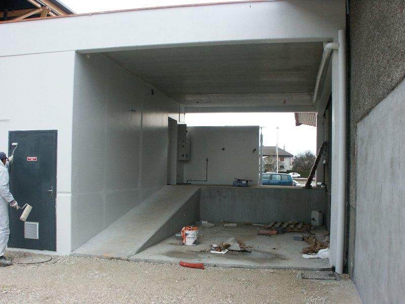 Sofaper chantier de la salle polyvalente de methet lasure prelor 3 sur beton 26