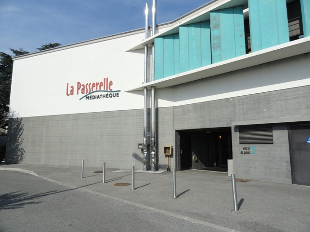 Sofaper Lasure Béton -  Médiathèque La Passerelles à Valence 1