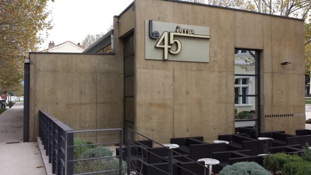 Sofaper rivasi chantier montelimat restaurant le 45 eme et le mess lasure 1 1