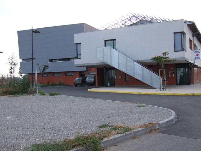 Sofaper sogea sud chantier hopital de lunel lasure beton 6