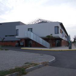 Sofaper sogea sud chantier hopital de lunel lasure beton 7