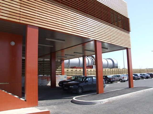 Sofaper sogea sud chantier usine de methanisation de montpellier 16