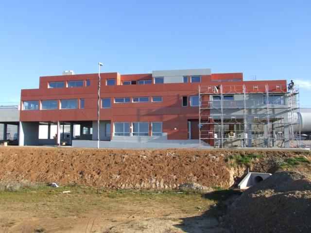 Sofaper sogea sud chantier usine de methanisation de montpellier 40