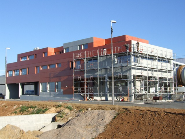 Sofaper sogea sud chantier usine de methanisation de montpellier 45