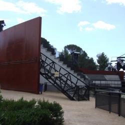 Sofaper theatre de verdure chateau d o montpellier lasure beton pieri 17