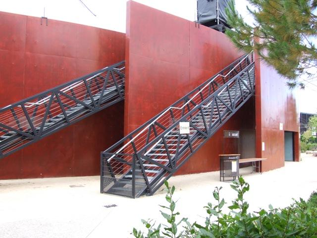 Sofaper Lasure Béton Grace Pieri - Theatre de Verdure Chateau d' O Montpellier ( Lasure Pieri ) 5