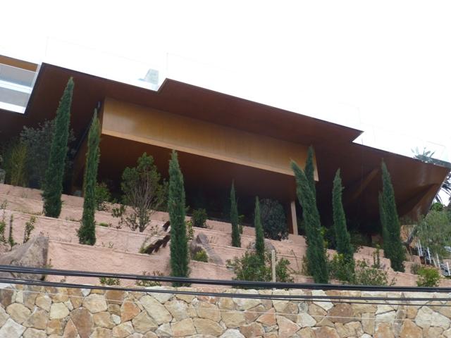 Sofaper villa theoule sur mer lasure beton 14
