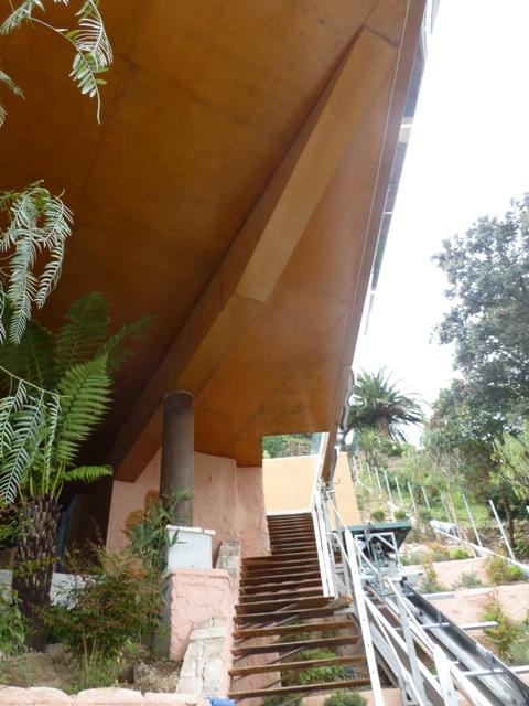 Sofaper villa theoule sur mer lasure beton 16