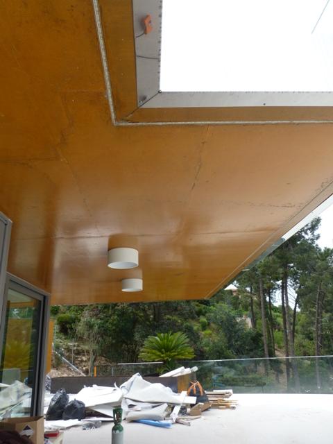 Sofaper villa theoule sur mer lasure beton 21