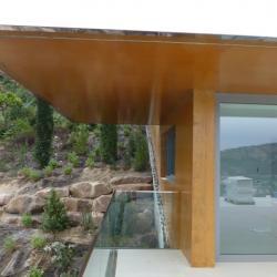 Sofaper Lasure Béton Grace Pieri - villa theoule sur mer lasure beton 22