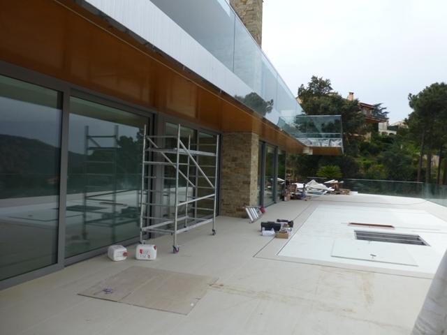 Sofaper Lasure Béton Grace Pieri - villa theoule sur mer lasure beton 23
