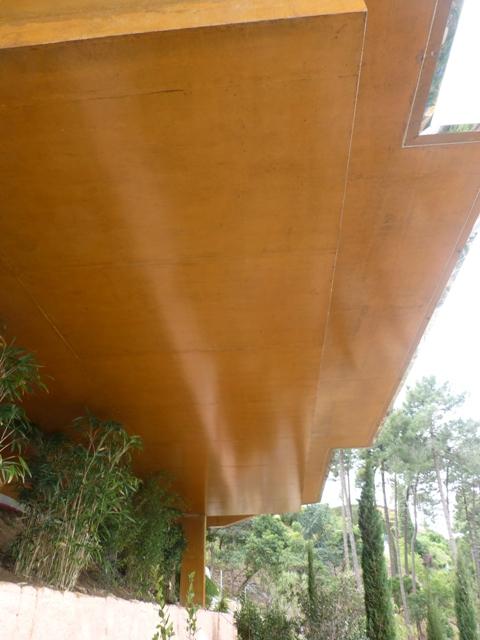 Sofaper Lasure Béton Grace Pieri - villa theoule sur mer lasure beton 52 1