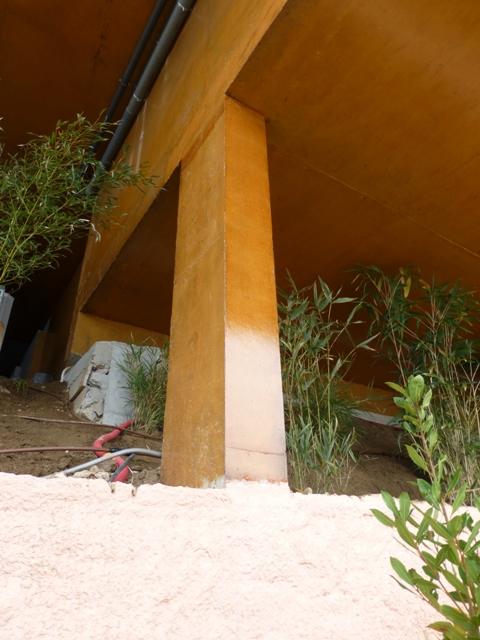 Sofaper Lasure Béton Grace Pieri - villa theoule sur mer lasure beton 53