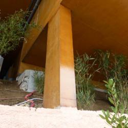Sofaper villa theoule sur mer lasure beton 53
